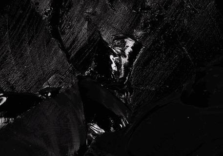 matière obsidienne en macro