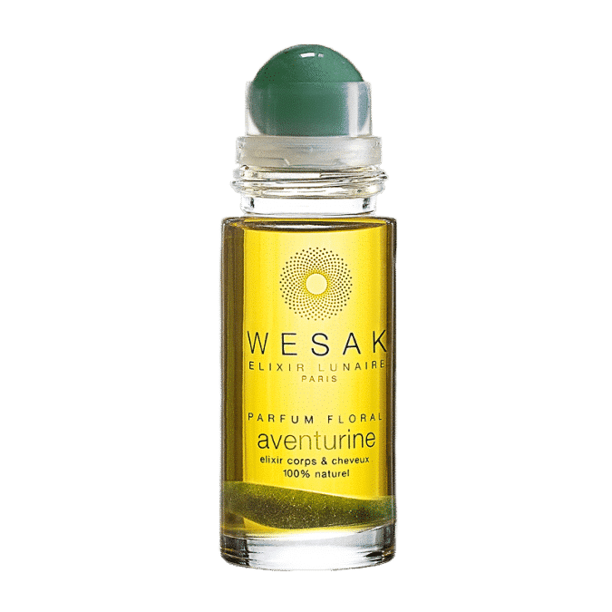 elixir lunaire roll-on aventurine wesak paris parfum floral