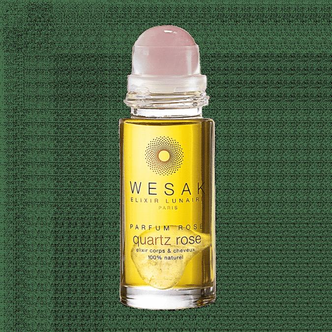 elixir lunaire roll-on quartz rose wesak paris parfum rosé