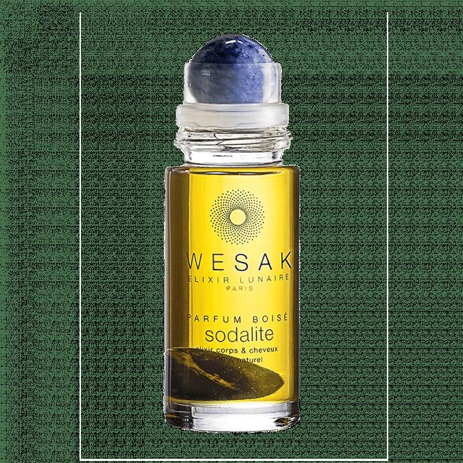 elixir lunaire roll-on sodalite wesak paris parfum boisé