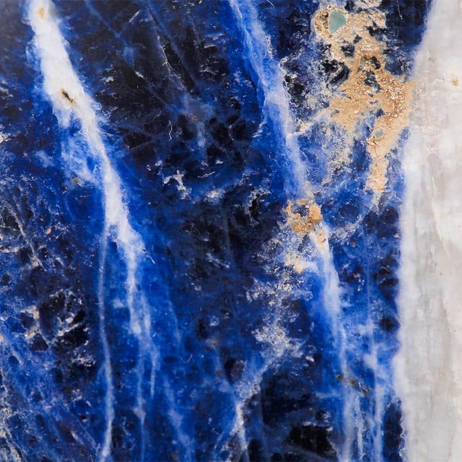 macro cristal sodalite